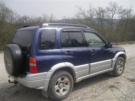 Suzuki Grand Vitara 2000 2000 Suzuki Grand Vitara Pics 1 5 Gasoline Manual For Sale