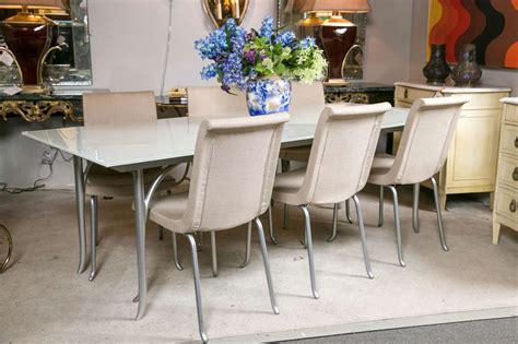 roche bobois dining tables roche bobois dining table with extendable leave at 1stdibs