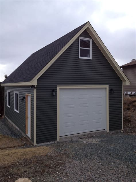 16x24 Shed by Garages