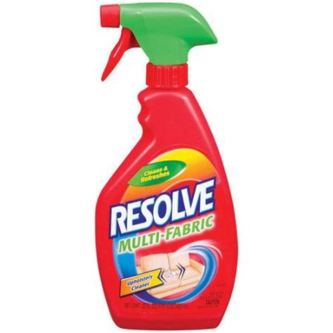 resolve multi fabric upholstery cleaner resolve multi fabric cleaner 22 oz