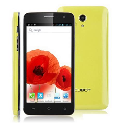 Android Ram 512 original cubot bobby android 5 0 inch cell phones mtk6572