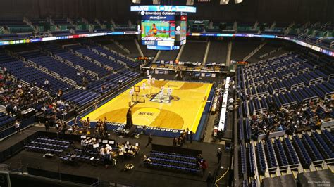 section 202 a 11 greensboro coliseum section 202 unc greensboro