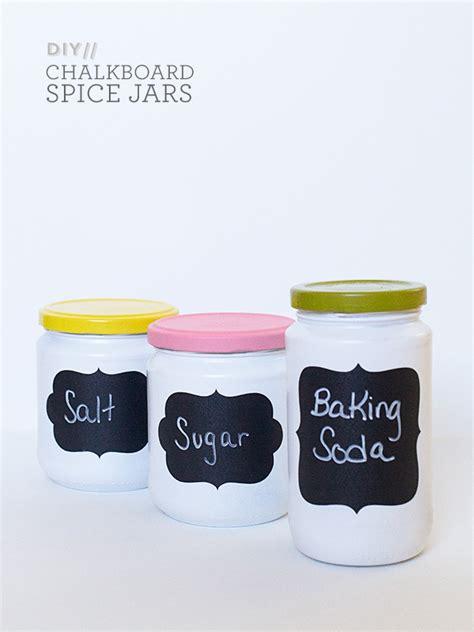 diy chalkboard jars hearts diy anthropologie chalkboard spice jars