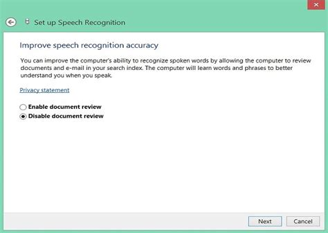 windows 10 speech tutorial step by step tutorial how to enable speech recognition on
