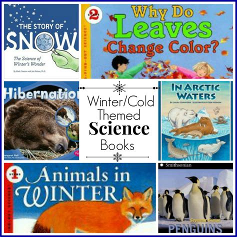 winterhouse books winter cold themed science books hip homeschool
