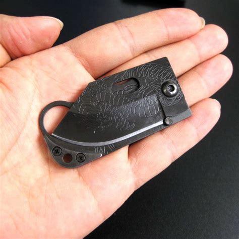 slim folding knife ultra slim folding pocket knife w money clip