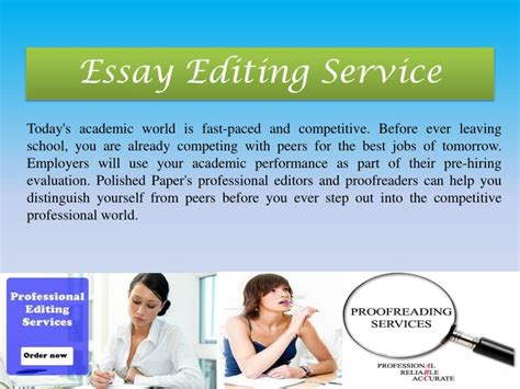 Essay Editing Service by Ppt Professional Essay Editing Services By Polishedpaper Powerpoint Presentation Id 5612782