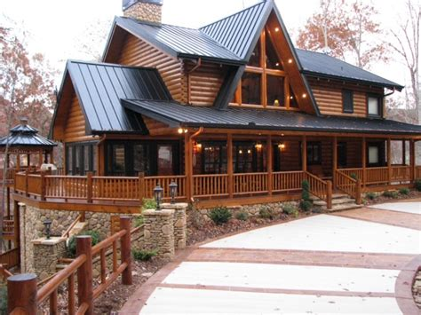 one story log homes one story log homes two story log homes with wrap around