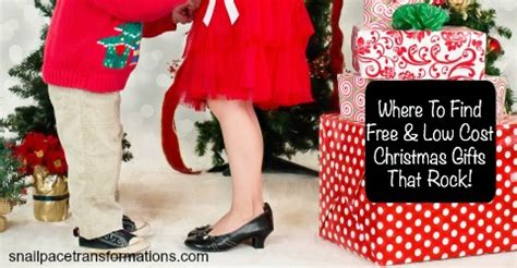 low cost christmas gifts where to find free low cost gifts that rock