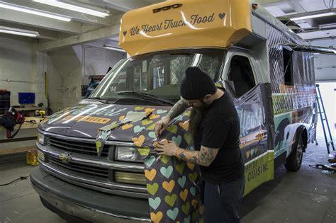 food truck window design heart food truck progress brands imaging