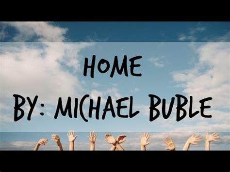 คอร ดเพลง เน อเพลง home michael buble plengarai