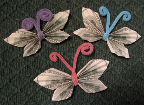 How To Make Money Origami Butterfly - money origami butterfly