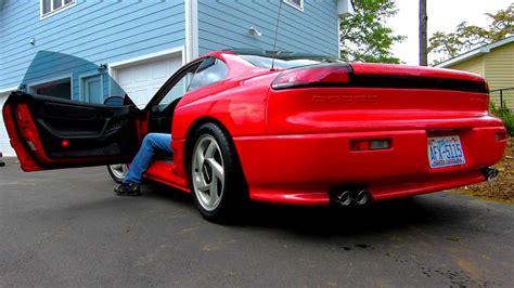 dodge stealth red 1992 dodge stealth r t tt ebay sold youtube