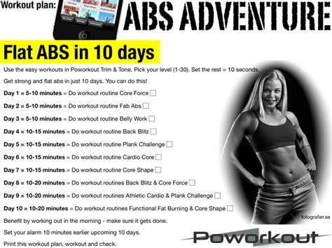 12 best images about printable workout plans on