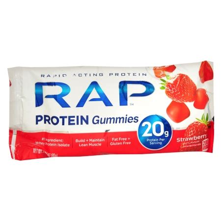 protein gummies rap gummies protein gummies strawberry walgreens