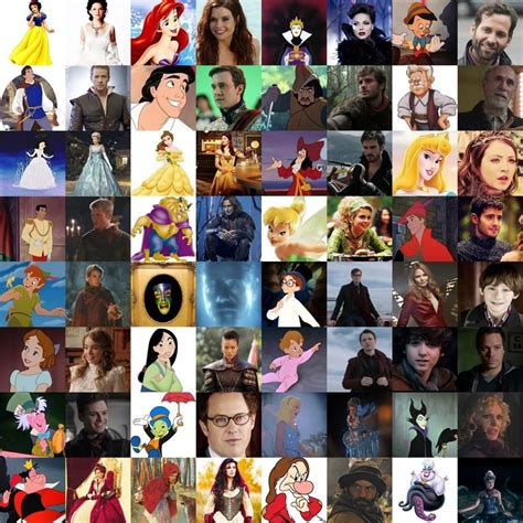 ultimate disney character tree once upon a time characters once upon a time characters ouat and tvs
