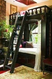 Loft Bed Nook Bunk Bed And Reading Nook Bedrooms