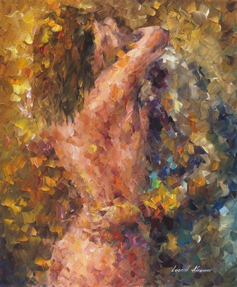 hug of lust original painting on canvas by leonid