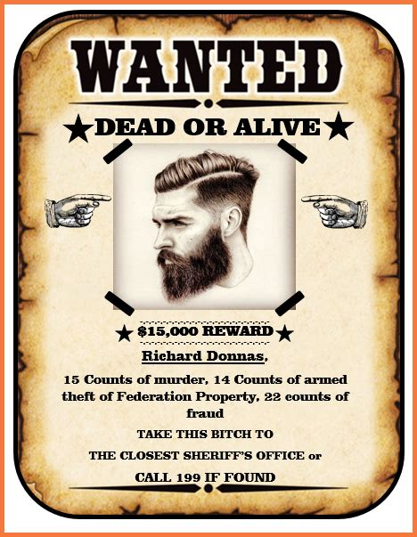 writing a letter for an wanted template wanted poster template bio letter sle