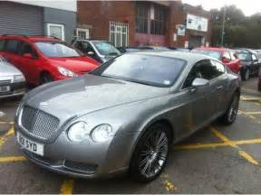 Used Bentleys For Sale Used Silver Bentley Continental 2004 Petrol 6 0 W12 2dr