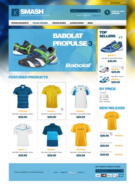 3dcart template 55 best 3dcart ecommerce templates designmaz