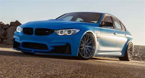 bmw m3 wears porsche s famed riviera blue