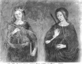 romano e santa caterina alinari