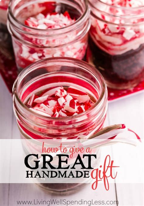 Great Handmade Gifts - how to give a great handmade gift living well spending less 174
