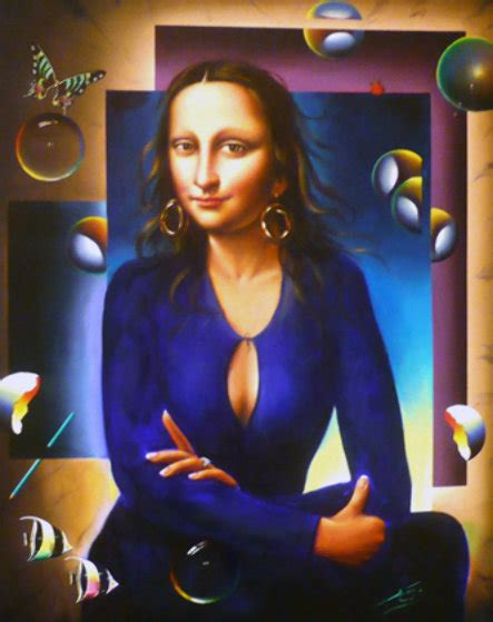 artist ferjo biography untitled mona lisa 56x45 by fernando de jesus oliviera