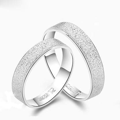 sanded smooth simple style 925 sterling silver