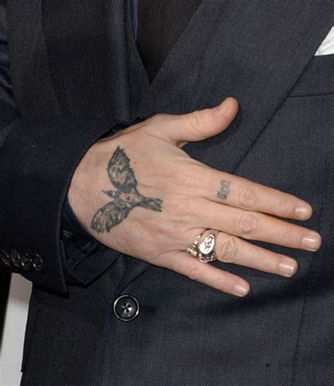 the crow tattoo johnny depp complete list of johnny depp tattoos with meaning