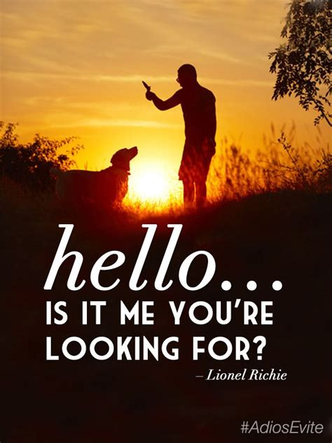 Hello Is It Me You Re Looking For Meme - hello is it me you re looking for lionel richie song