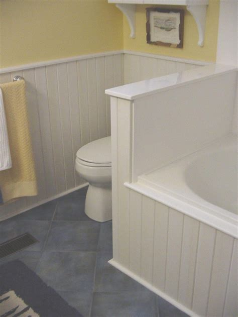Wainscoting Shelf by I Like The Wainscoting Around The Toilet Traditional