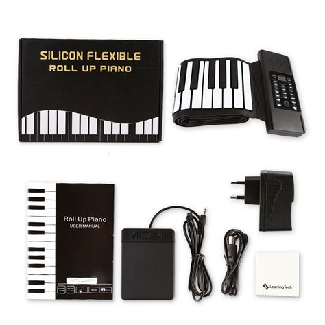 Sale Piano Gulung Silicon Roll Up Piano 88 key electronic piano keyboard silicon roll up