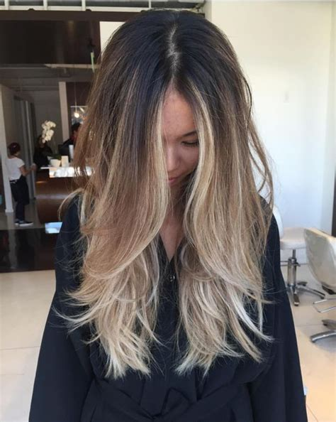 hair styles dark on top and light on bottom 12 best layered hairstyles for long hair 2017 on haircuts