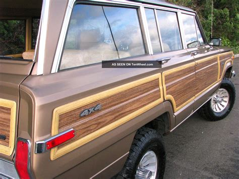 Vintage Jeep Wagoneer 1988 Jeep Grand Wagoneer Vintage Quot Woody Quot 4x4 In Condition