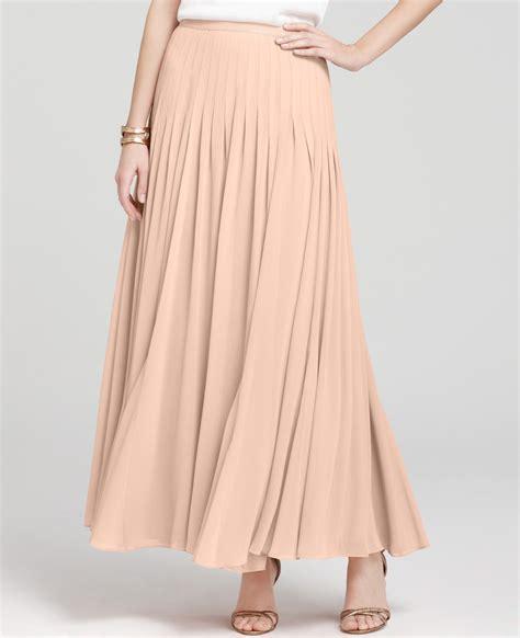 ballet maxi skirt in pink lyst