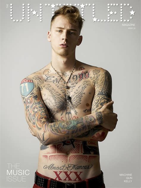 the untitled magazine cover machine gun kelly in robin s