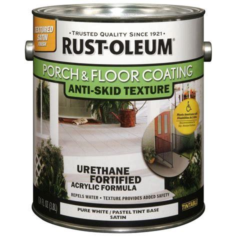 Rustoleum Porch Paint rust oleum porch and floor 1 gal white anti skid satin coating of 2 248137 the