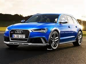 Audi Allroad Rs6 Audi Rs 6 Allroad 2017 Illustration Bild 2