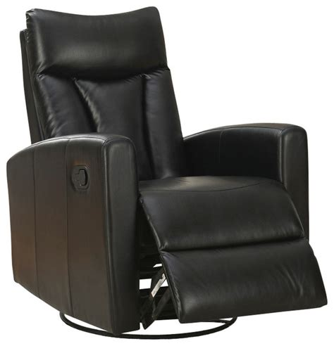 monarch specialties chair black bonded monarch specialties black bonded leather swivel glider