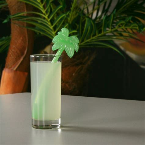 palm tree ice stirrers drink coolers cocktail
