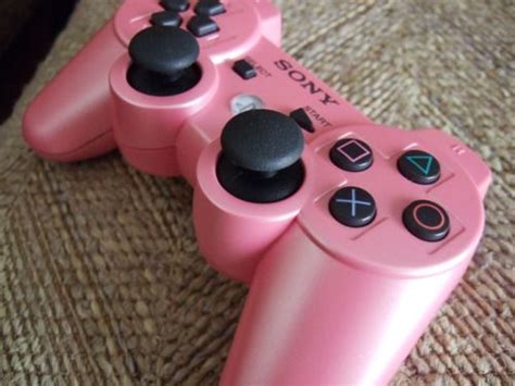 Girly Wallpaper For Ps3 | pink ps3 controller for a girly gamer i must get one