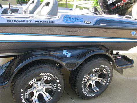 boat trailer tires white letter missouri 2014 cougar ftd mercury 250 pro xs only 10 hours