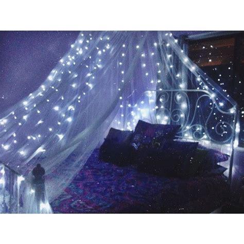 bed canopy with fairy lights mua dasena1876 movie night qu instagram photo