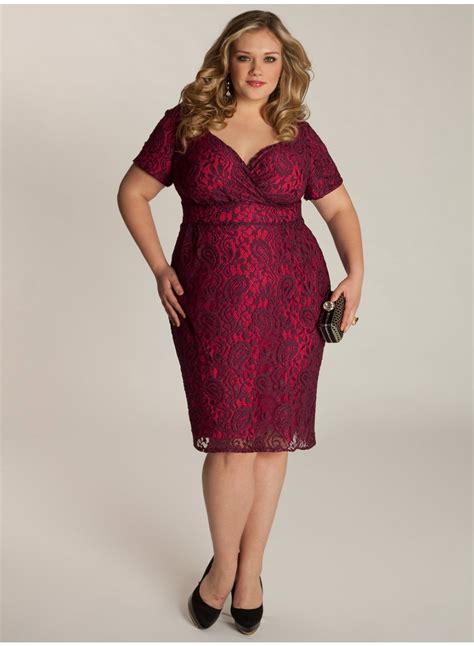Dress Sabrina Size 8 sponsored plus size fashion trend of the day melina dress in berry from igigi plus model