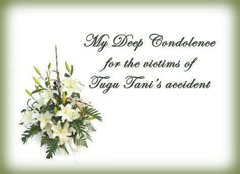 sympathy message condolence messages