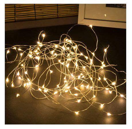 Sharper Image Solar Powered Led Outdoor Copper String Led String Lights Canada