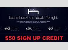 Hotel Tonight $50 Sign Up Bonus | LoyaltyLobby Hotel Tonight