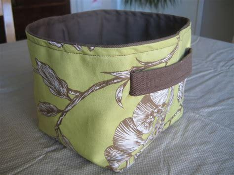 pattern fabric bucket fabric basket bin bucket tutorials sewing content in